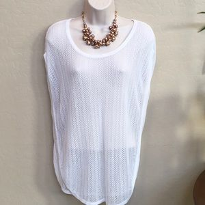 "Loft ""See-through"" top Size S"